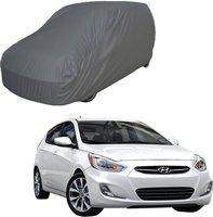 DEPON Car Cover For Hyundai Accent (Without Mirror Pockets)(Grey, For 2015 Models)