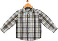 ShopperTree Boys Checkered Casual Multicolor Shirt