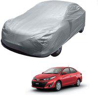 Auto Addict Car Cover For Toyota Yaris (Without Mirror Pockets)(Silver)