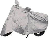 Millennium Two Wheeler Cover for Universal For Bike(Silver)