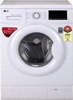 LG 6 kg 5 Star Fully Automatic Front Load with In-built Heater White(FHM1006ADW)