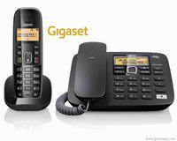Gigaset A590 Corded Landline Phone(White)