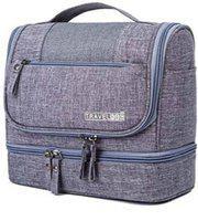 ShopyBucket 1010 SB Hanging Toiletry Bag Grey 05 Travel Toiletry Kit(Grey)