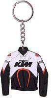 KTM keychain Jacket Front & Back Design Rubber Jersey PVC Key Chain