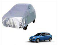 Alexa India Car Cover For Ford Figo (With Mirror Pockets)(Silver)