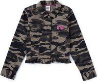 Cub McPaws Full Sleeve Printed Girls Jacket
