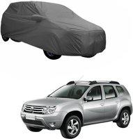 myTVS Car Cover For Universal For Car (With Mirror Pockets)(Grey)