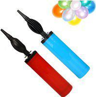 UJIE Pack of 2 Balloon Pump Long Lasting Balloon Blower Inflator Air Pump Multi Colour Balloon Pump(Multicolor)