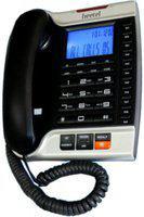 Beetel M70 Corded Landline Phone(BLACK/SILVER)