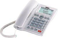 Uniden AS7412 Corded Landline Phone(White)