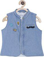 Tales & Stories Solid Boys Waistcoat