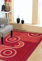 Status Multicolor Wool Carpet(121 cm  X 182 cm)