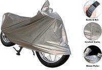 Andride Two Wheeler Cover for Bajaj(Pulsar 220 DTS-i, Silver)
