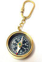 Artshai Magnetic Keychain Compass(Gold)
