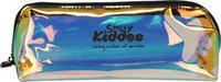Smily Kiddos 1 Smily Holograph pencil pouch (Black) | kids pencil Case | School pencil case | kids pencil Pouch | Art Artificial Leather Pencil Box(Set of 1, Multicolor)