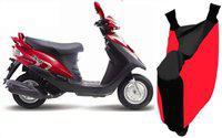 Shengshou Two Wheeler Cover for Kinetic(Flyte, Red, Black)