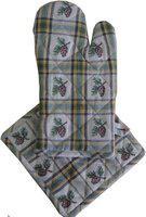 Adt Saral Multicolor Kitchen Linen Set(Pack of 2)