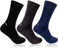 Bonjour Men's Ankle Socks (pack Of 3)(bro220d-po3_multicolor_free