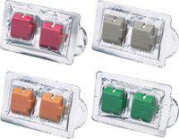 Ambicar Electric Car Air Freshener Red Fruit Nature Tropical Elegance Combo Refill packs Car Freshener(4 x 11 g)
