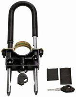 Capeshoppers Hero Hf Deluxe CS001528 Wheel Lock(Black)