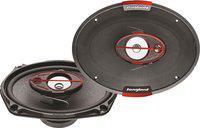 Songbird 6''X9'' Oval 550W Max 3 Way SB-B69-76 Coaxial Car Speaker(550 W)