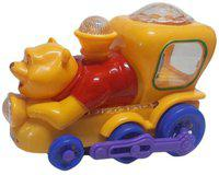 New Pinch Multicolor Yellow Musical Train(Multicolor)