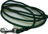 Suraj Chains Dog Collar & Leash(Small, Green)