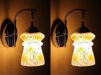 Gojeeva Pendant Wall Lamp(Pack of 2)