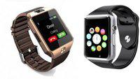 OPILL new stylish smartwatch for combo Smartwatch(Silver, Gold Strap, FREE SIZE)