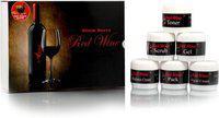 Adidev Herbals Black Berry Red Wine Facial Kit 600 g(Set of 6)