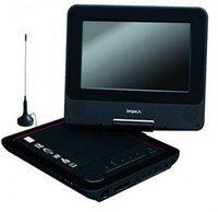 Shrih Video Player 7 inch DVD Player(Black)