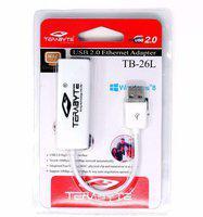 Terabyte USB 2.0 Ethernet Adaptor Lan Adapter(10 Mbps)