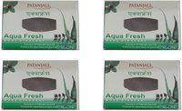 Patanjali Aqua Fresh Body Cleanser(4 x 75 g)
