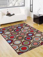 Status Blue Nylon Carpet(152 cm  X 213 cm)
