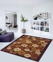 Status Beige Nylon Carpet(152 cm  X 213 cm)