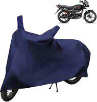 Spaiko Two Wheeler Cover for Suzuki(Hayate, Blue)