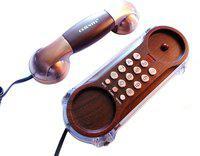 Siddh Present Orientel Antique Style Kx-T777 Corded Landline Phone(Brown)