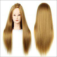 Ritzkart Silky imported soft  dummy for Prectise / Cutting / styling For Trainers Hair Extension