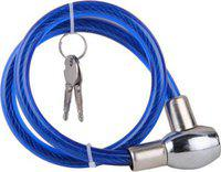 Allure Auto Steel Cable Lock For Helmet