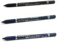 Bonjour Paris Single Apply 07 Black-Navy Blue-Party Blue Eye Liner 3.6 g(Black, Navy Blue, Party Blue)