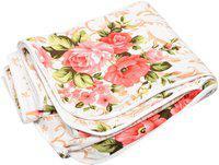 svt Floral Single Dohar(Poly Cotton, Multicolor)