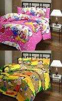 svt Cartoon Double Dohar(Poly Cotton, Multicolor)