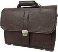 Da Tasche 12 inch, 13 inch, 14 inch, 15 inch, 15.6 inch Laptop Messenger Bag(Brown)