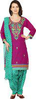 Aavaya Fashion Embroidered Kurti & Patiyala(Stitched)
