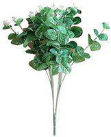 Futaba Green Wild Flower Artificial Flower(19 inch, Pack of 1)