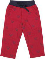 612 League Regular Fit Baby Boys Red Trousers