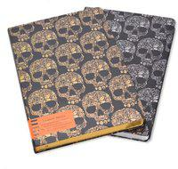 Enwraps Rich Skull - 080AS Regular Notebook 96 Pages(Multicolor, Pack of 2)