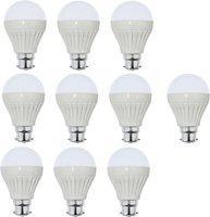 Iron Tech 3 W Standard B22 LED Bulb(White, Pack of 10)