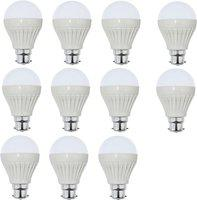 Iron Tech 7 W Standard B22 LED Bulb(White, Pack of 11)