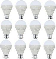 Iron Tech 12 W Standard B22 LED Bulb(White, Pack of 12)